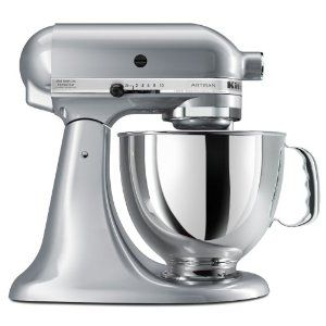 KitchenAid Artisan stand mixer.  This is one of the best Christmas presents I have ever received.