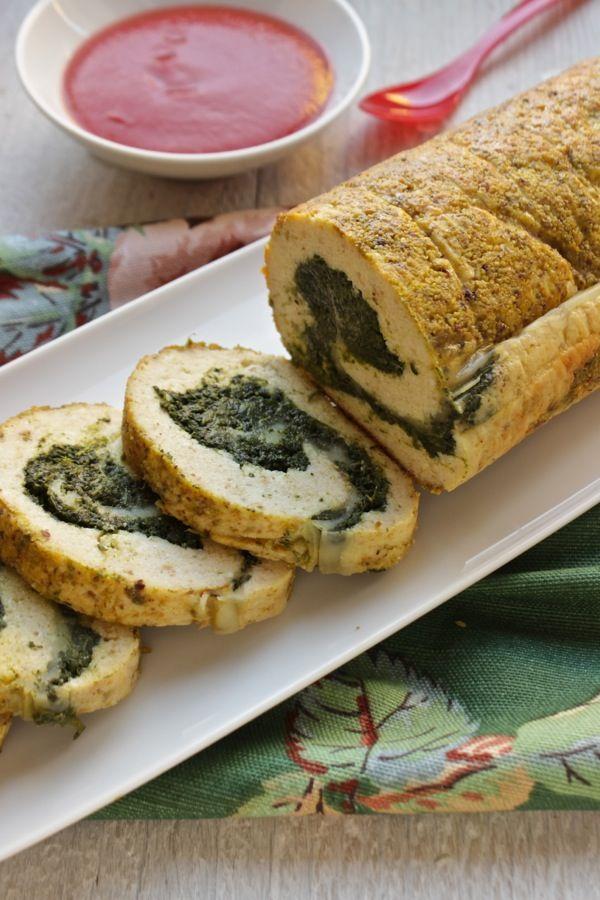 Un arrosto di ricotta e spinaci, idea veggy anche a Natale ,perchè no?