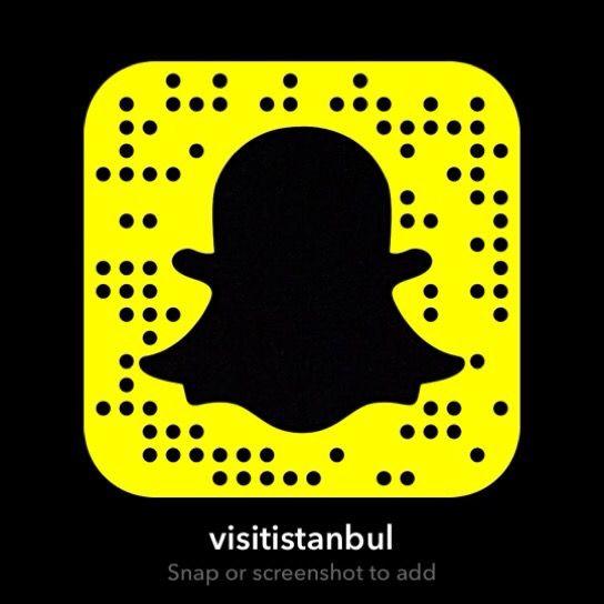 Snapchat : @visitistanbul