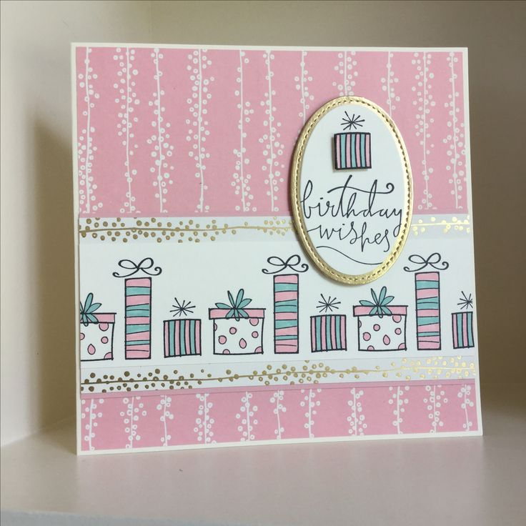Bundle of Love papers with Happiest of Days stamp set - created by Julia Jordan