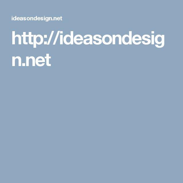 http://ideasondesign.net