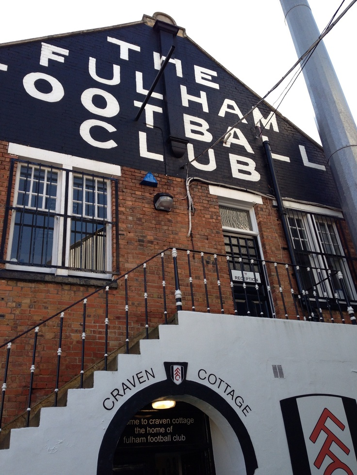 Welcome to Craven Cottage!
