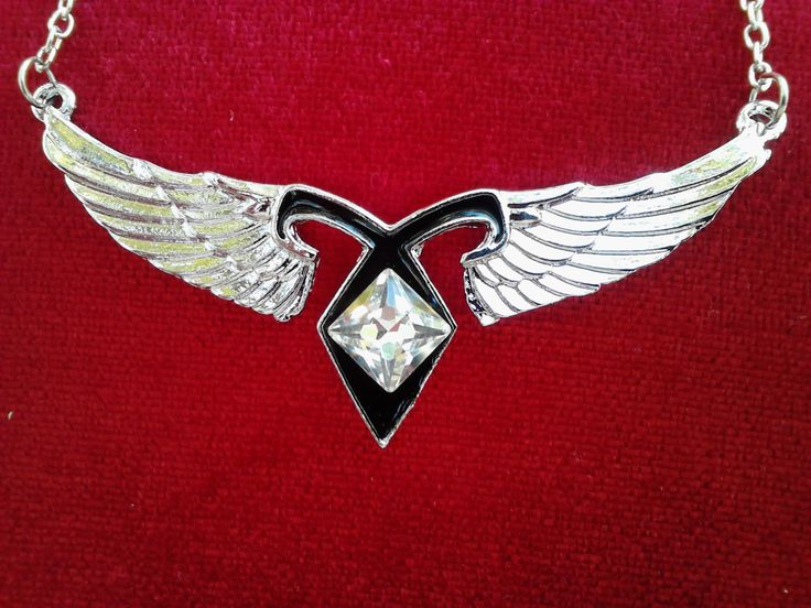 Angel Wings Power Rune Pendant