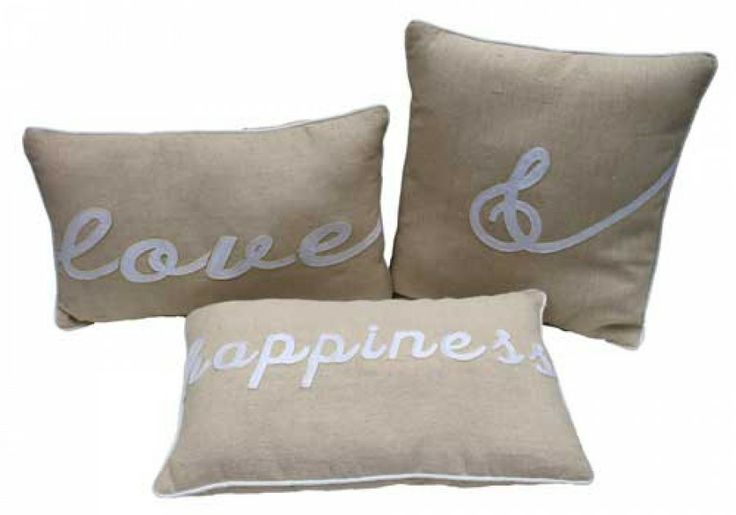 Cushion Love & Happiness Set 3 $30+ GST