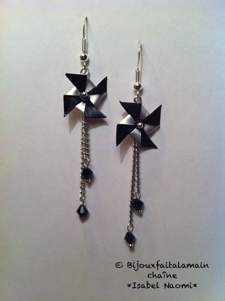 DIY Nespresso How to make pinwheel earrings                                                                                                                                                                                 Mais