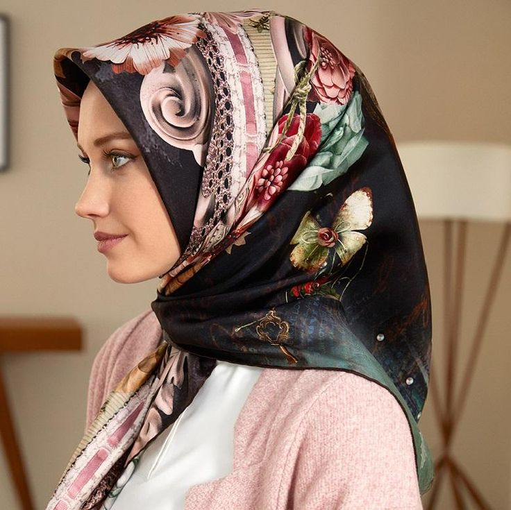 Armine Allegro Women's Silk Head Scarf at www.hijabplanet.com - free shipping worldwide  #scarf #hijab #fashiontrends #fashionstylist #fashiondaily #fashionlovers #fashiongirl #fashion #hair #hijabfashion