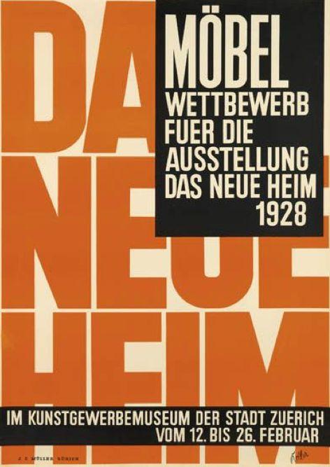 By Ernst Keller (1891-1968), 1928, Das Neue Heim, Zurich.  (Swiss)
