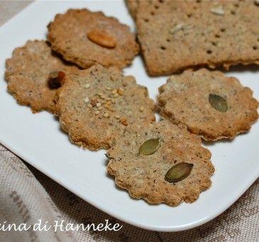 Crackers ai semi – ricetta senza glutine