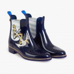 Boots plates Ancre - LEMON JELLY #LeBonMarché #women #femmes #trend #silencelesmouettes #pe2016 #ss2016