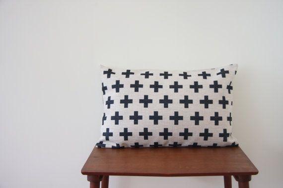 "14"" x 20"" Decorative Pillow Cover Scandinavian Cushion Cover Geometric Pattern Throw Cushion Minimalist Pillow Cover 50cm x 35cm"
