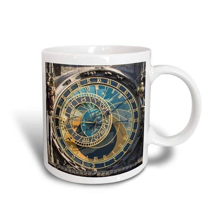 3drose 3drose Mug 81259 3 Astronomical Clock Orloj Prague Czech Republic Eu06 Tha0021 Tom Haseltine Magic Transforming Mug 11 Oz Sponsored Paid Dro