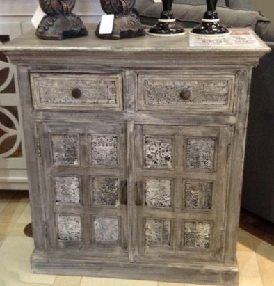 Who Doesnu0027t Love A Shabby Chic Accent Table? This Reclaimed Piece Brings So