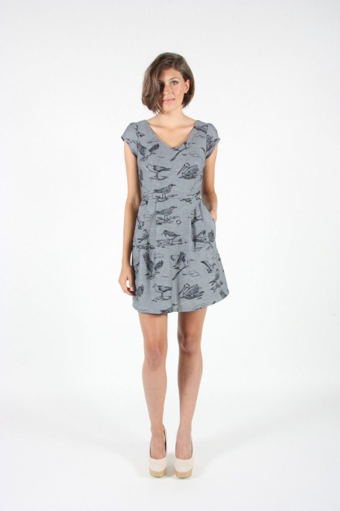 Learn more about Canadian fashion line Birds of North America and designer Hayley Gibson. Her dresses are designed and manufactured in Canada.  http://frockdilettante.ca/relatable-hayley-and-the-birds-of-north-america/