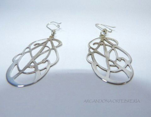 Earring norse inspiration. Silver 9.50