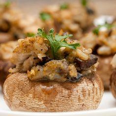 Sausage Stuffed Mushrooms Lea & Perrins ®