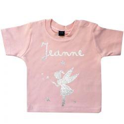 Tee-shirt personnalisé Rose