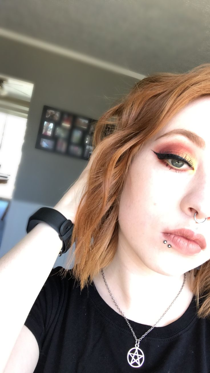 makeup inspired by fire 🔥