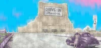 The History of Drive-In Theaters - June theme activities: In discussion group talk about the history of outdoor theaters. Game: Name movies shown at drive-ins or how many they got in a car for one admission price. Evening activity, Set up an out door projector, chairs, select a movie, pop popcorn, drinks and you have an outdoor movie theater.