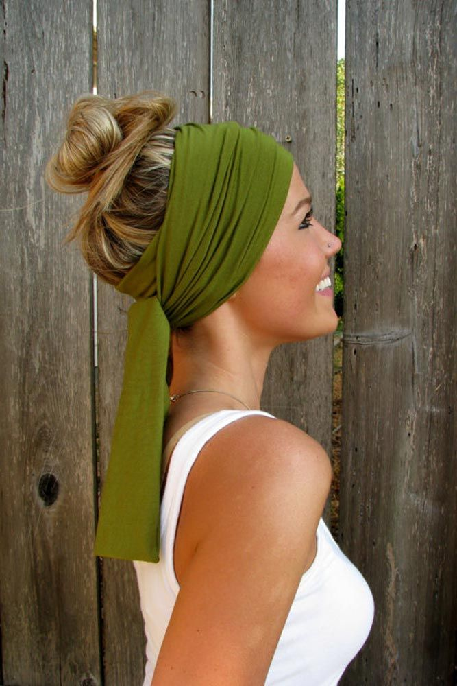 Best 25 Head Scarf Styles Ideas On Pinterest Hair Scarf