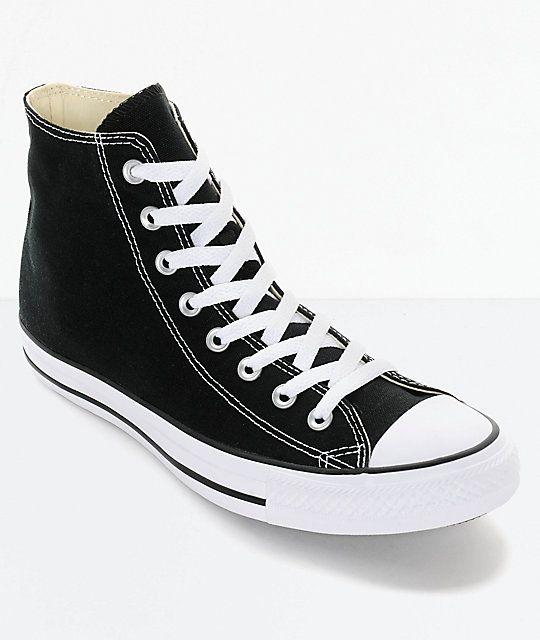 6aa12da2f3d Converse Chuck Taylor All Star Black High Top Shoes de 2019
