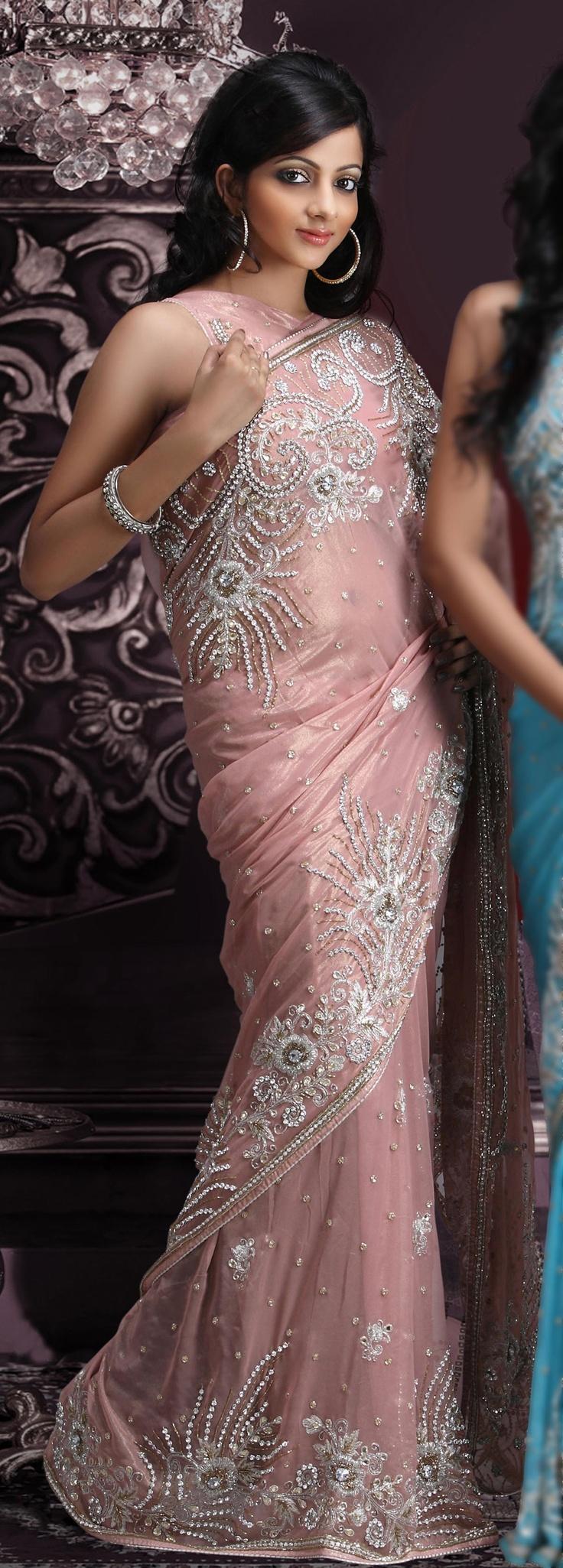 Stunning sari.