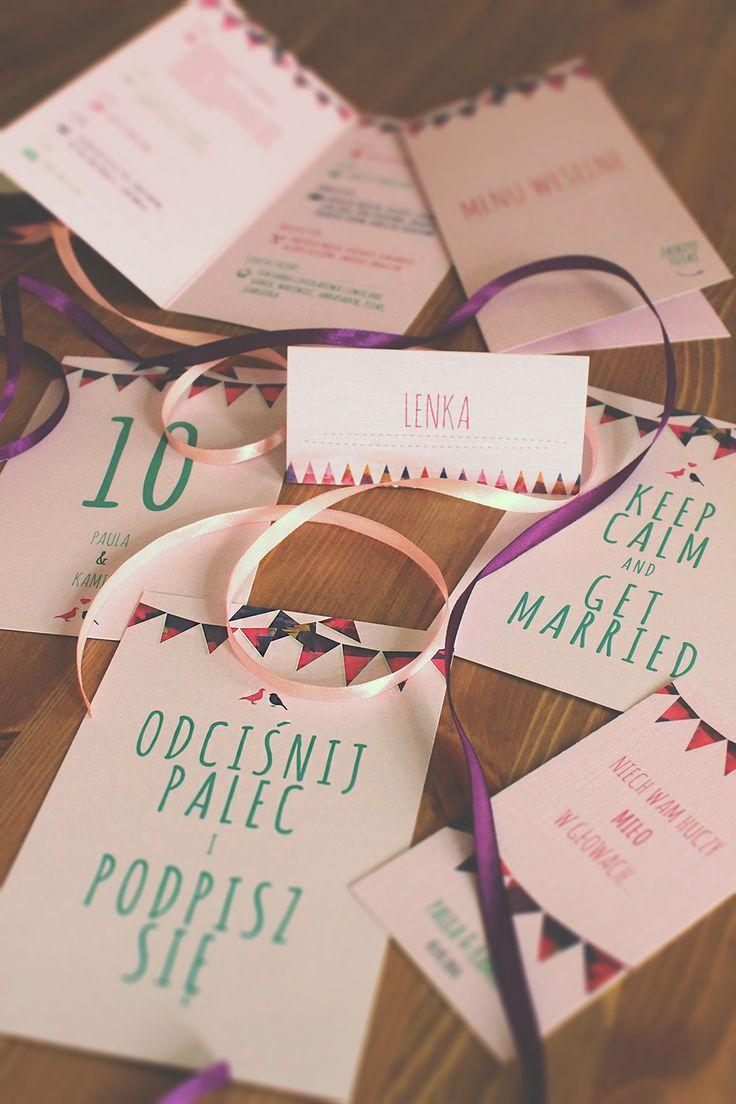wedding invitations personalizowane, dedykowane zaproszenia ślubne