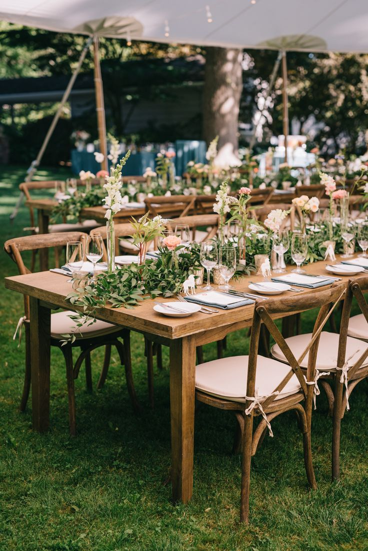 Wedding garden chairs - Elegant Quirky Dog Themed Garden Wedding
