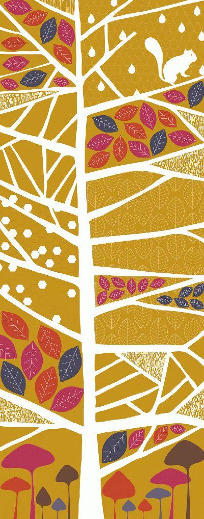 Textura abstracta de arbol, facil de replicar y hacer crecer