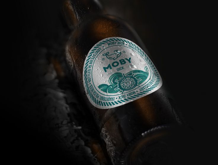 Moby Dick Beer - Label Redesign