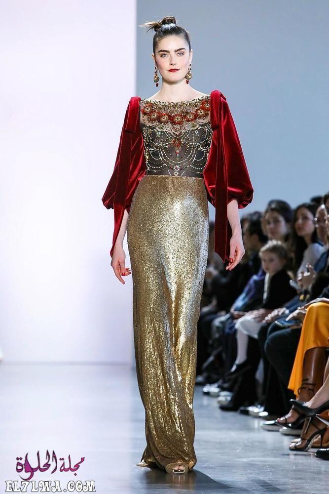 اجمل فساتين سهرة 2021 موديلات فساتين سهرة موضة 2021 قد م المصممون مجموعة من أجمل فساتين سهرة لعام ٢٠٢١ Beautiful Evening Dresses Ready To Wear Badgley Mischka