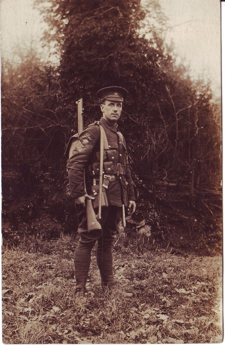 WO1 RSM Crinyion as a Staff Sergeant DHY c. late 1914 early 1915.