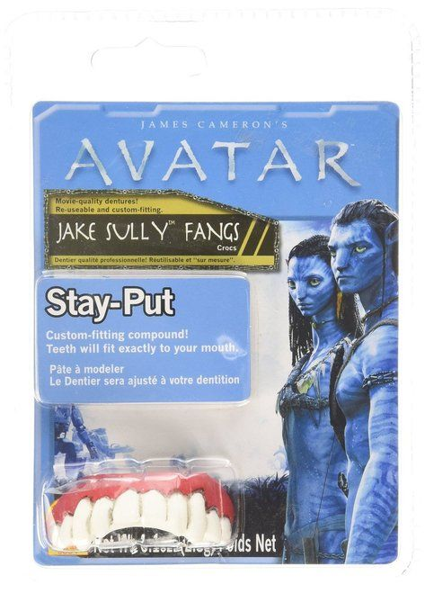 Jake Sully Costume Accessory Fangs