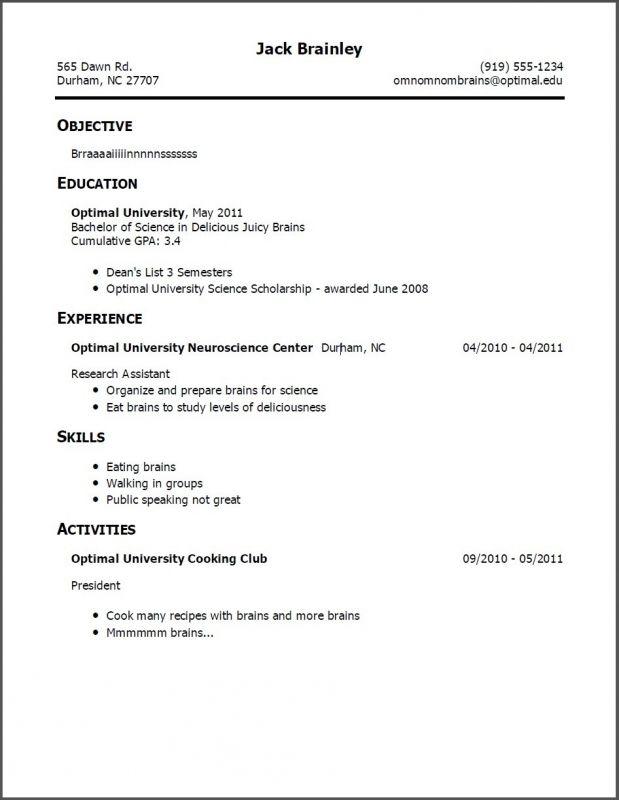 Copy Of | Job resume examples, Job resume template, Resume ...