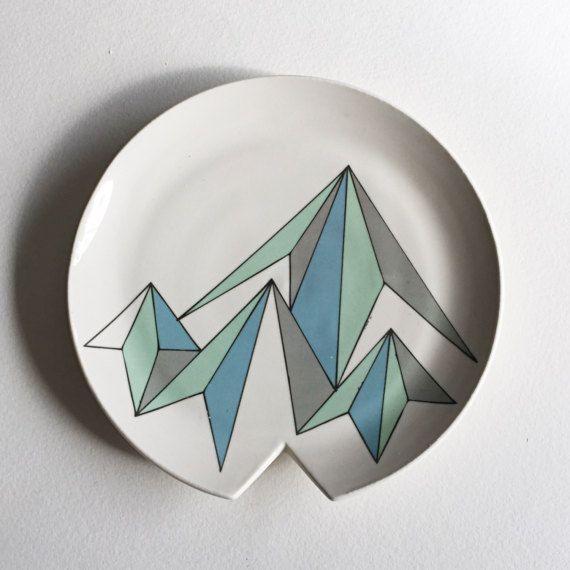 porseleinen lepel rest / wiel gegooid aardewerk / keramische lepel houder