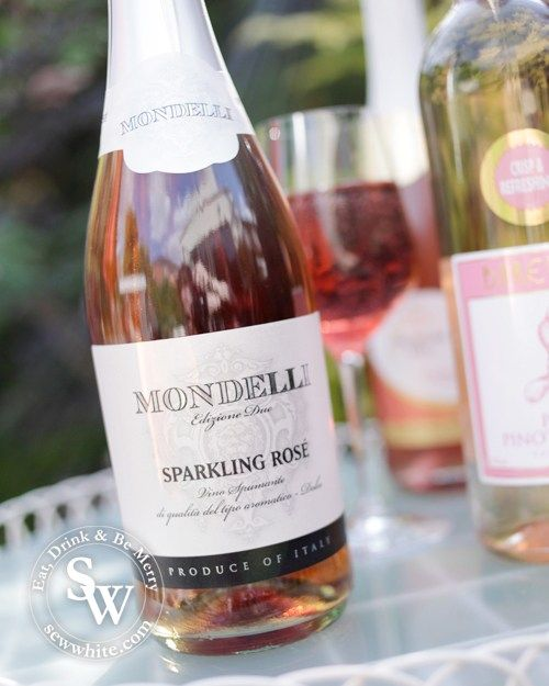A Rosé wine Bank Holiday, pink wine, mondelli sparkling rose