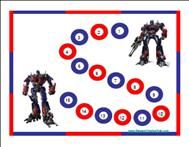 Transformers Behavior Chart.Reward charts to use at home or in your class. The child can put a sticker on each time to reach the goal. This one is great for boys. :)