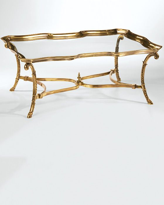 Brass Display Coffee Table: 17 Best Images About Tables On Pinterest
