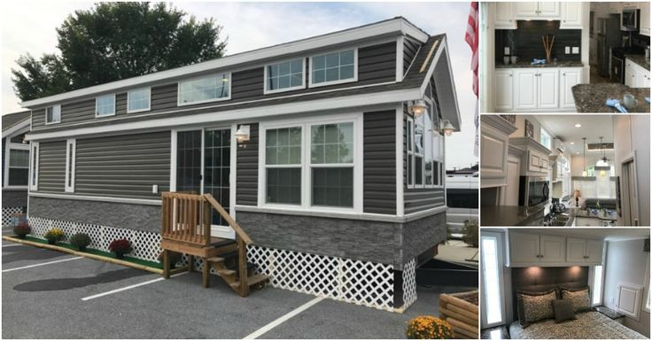 Park Model Homes are factory direct wholesalers that work directly with customers to help construct their own floor plans and help design each and every tiny home. This particular Park Model/Tiny Home was built out of their Skyline facility located in Leola PA which is 1 of their 12 factories around the country.