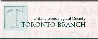 Ontario Genealogical Society Toronto Branch: Irish Family History Workshop