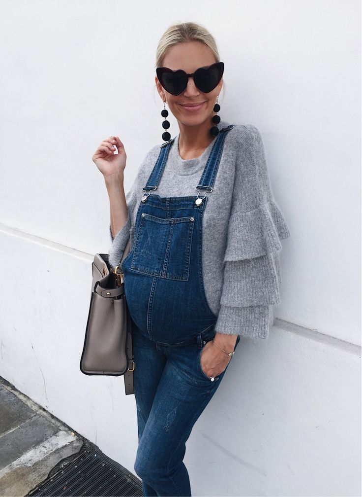 Dungarees aren't just for the summertime! Today's look wearing two old items I love: my H&M dungarees and this knit I got last winter which is available again and it's really well priced. I've always been about mixing high street with designer and I'm so glad lots of you came back with feedback re styling videos - I will definitely start this and will focus my first one on some of my favourite Autumn trends with lots of highstreet pieces 😍  http://liketk.it&...