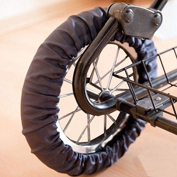 1 stücke Kinderwagen Zubehör Wheels Covers für Rollstuhl Kinderwagen Kinderwagen Kinderwagen Staubdicht Rad Deckt Schutzhülle