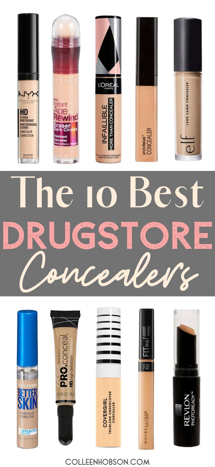 The 10 Best Drugstore Concealers On The Market Today
