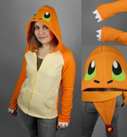 Charmander Pokemon hoodie