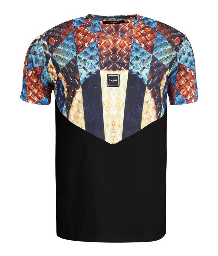 T-Shirt Unkut Royal Noir - Unkut Shop Officiel