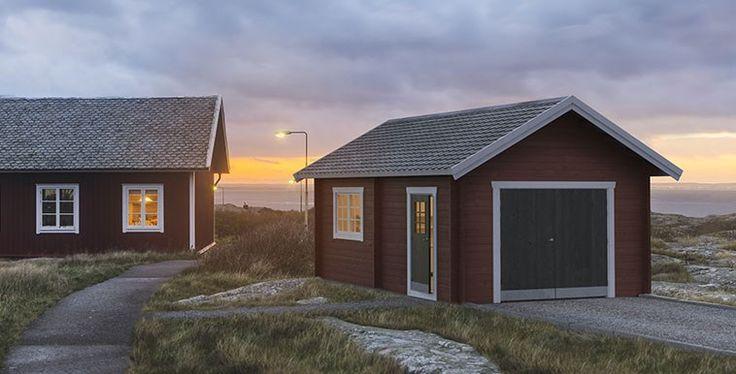 Baseco | Friggebod bastu 2015 | Funkis | Swedish sauna