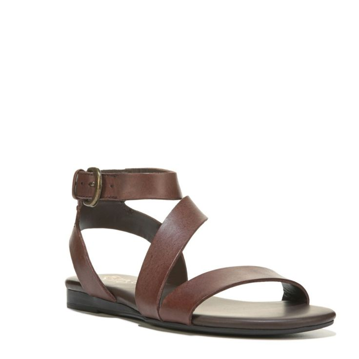 Franco Sarto Women's Gustar Sandals (Brown) - 10.0 M