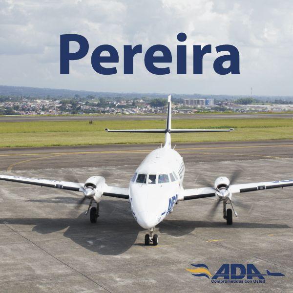 Qué rico aterrizar en Pereira