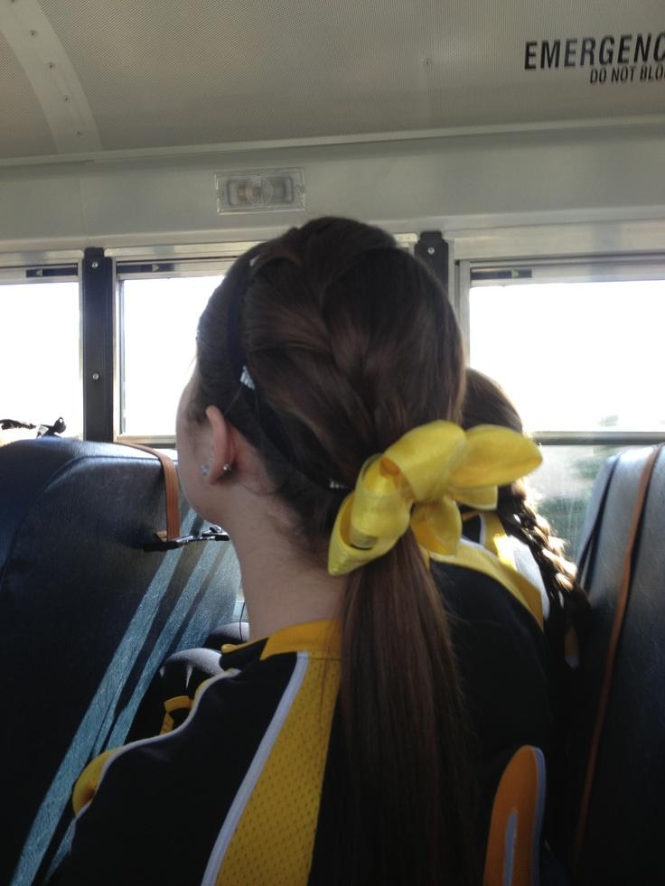 Softball pitcher hair ⚾