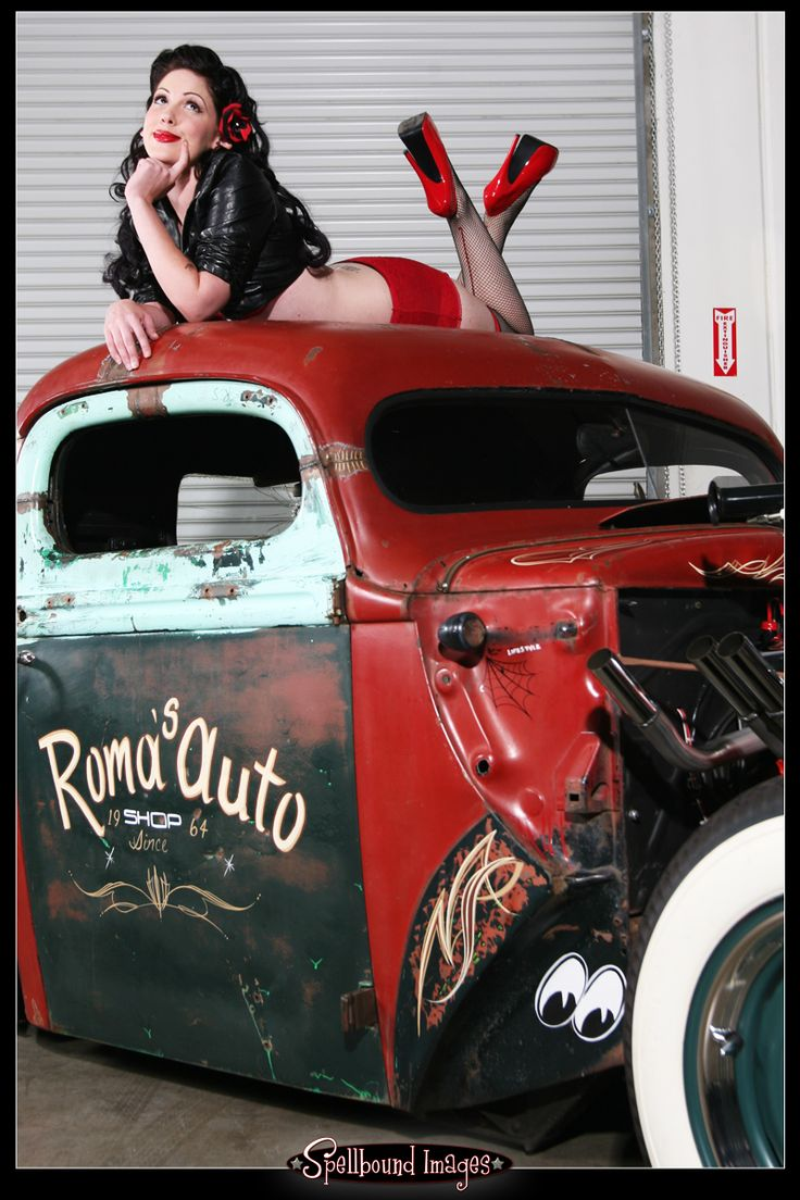544 best Girls and Hot Rods and Rat Rods! images on Pinterest ...