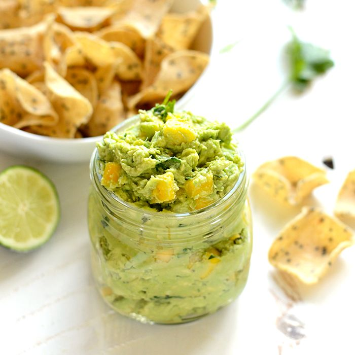 Mango Guacamole - Fit Foodie Finds